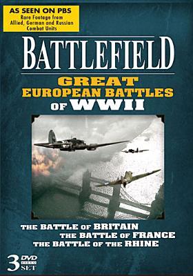 BATTLEFIELD GREAT EUROPEAN BATTLES OF (DVD)